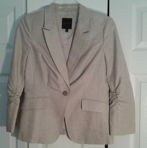 The Limited Linen Blend Blazer